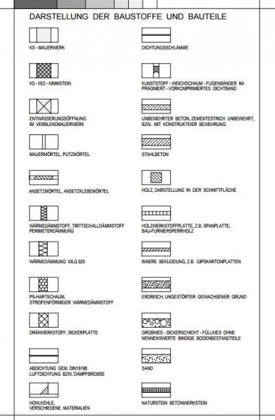 Detailsammlung (dxf) zum Wärmebrückenkatalog