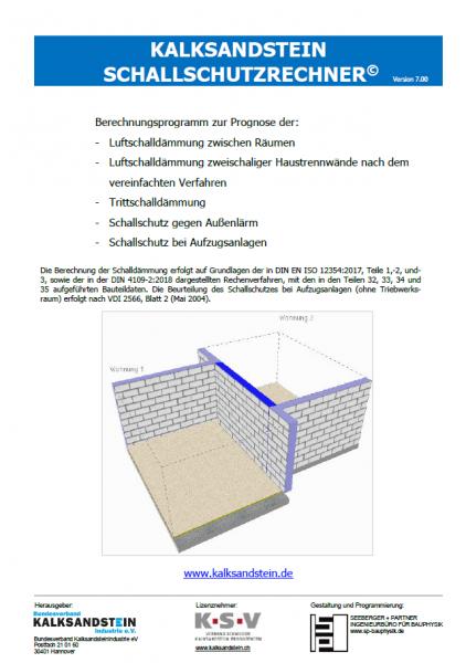 KS-Schallschutzrechner | Version 7.01