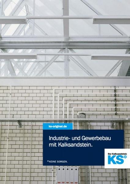 Industrie- und Gewerbebau mit Kalksandstein.