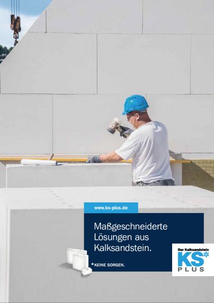 KS-PLUS | Maßgeschneiderte Lösungen aus Kalksandstein