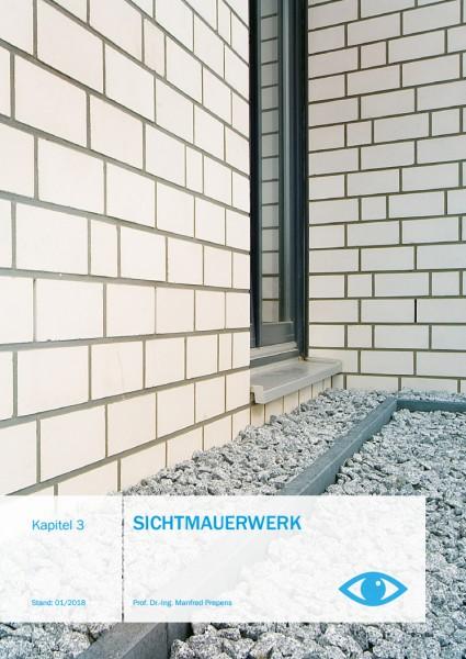Sichtmauerwerk | Planungshandbuch Kap. 03