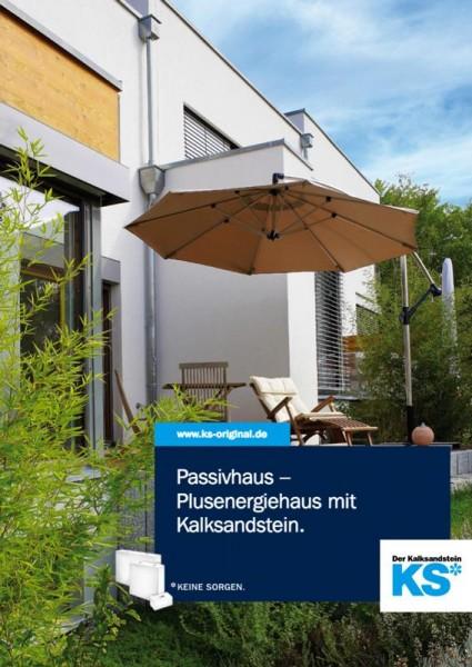 """Passivhaus """"Plusenergiehaus aus Kalksandstein"""""""